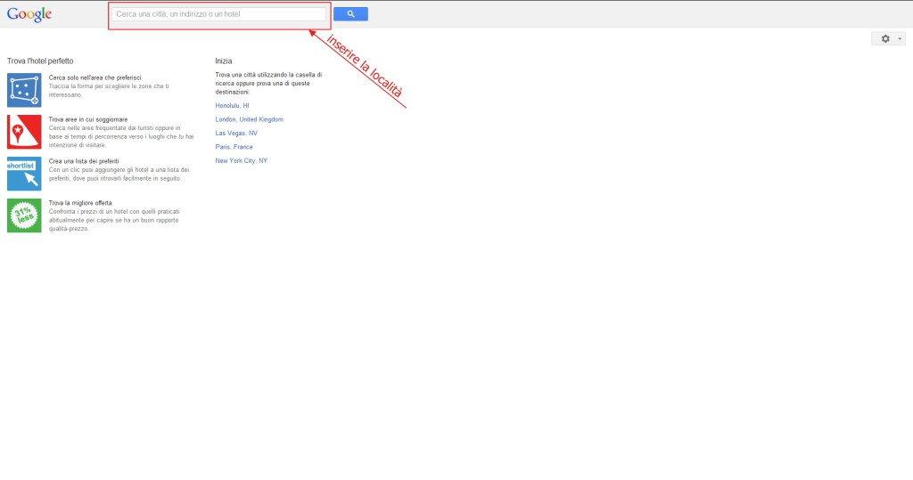 google hotel finder