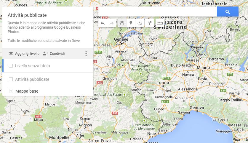 mappa condivisa